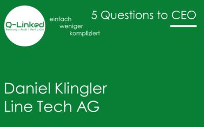 Daniel Klingler – Line Tech AG
