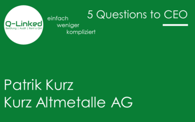 Patrik Kurz – Kurz Altmetalle AG