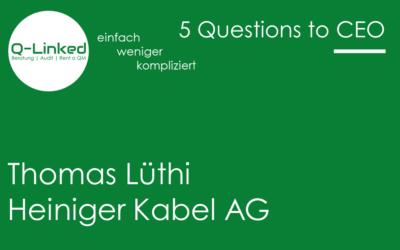 Thomas Lüthi – Heiniger Kabel AG