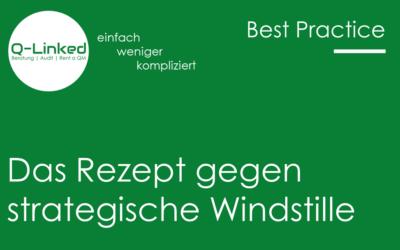 Das Rezept gegen strategische Windstille